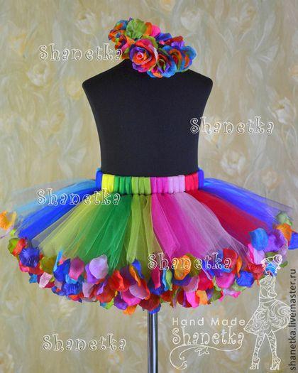 """Одежда для девочек, ручной работы. Заказать Юбка-пачка из фатина для девочки Масленица. """"SHANETKA"""" Творческая мастерская. Ярмарка Мастеров."""