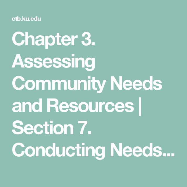 Chapter 3. Assessing Community Needs and Resources | Section 7. Conducting Needs Assessment Surveys | Main Section | Community Tool Box