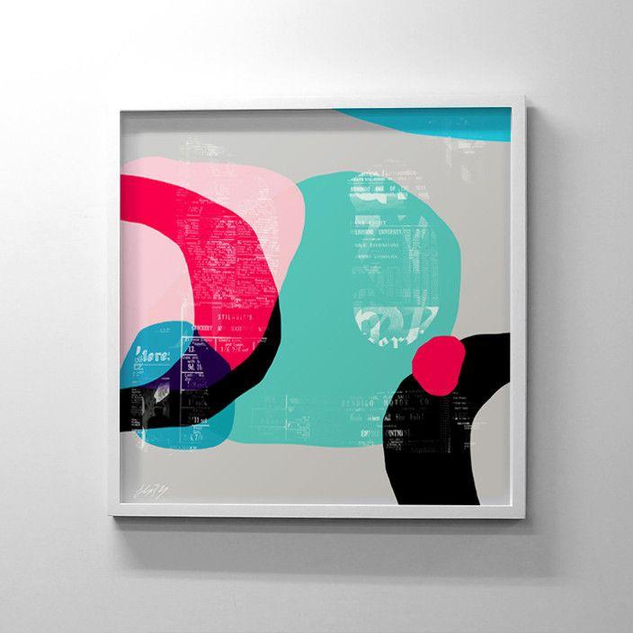 Peninsular - Limited Edition Print (Small) 26x26 $95 lindsayblamey