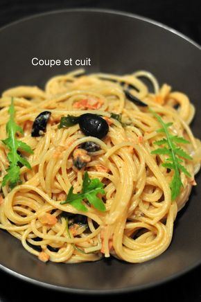 Pates A La Grecque Coupe Et Cuit Favorite Foods Pasta Pasta
