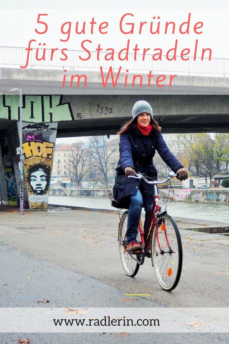 5 gute Gründe fürs Stadtradeln im Winter | Radfahren, Radeln