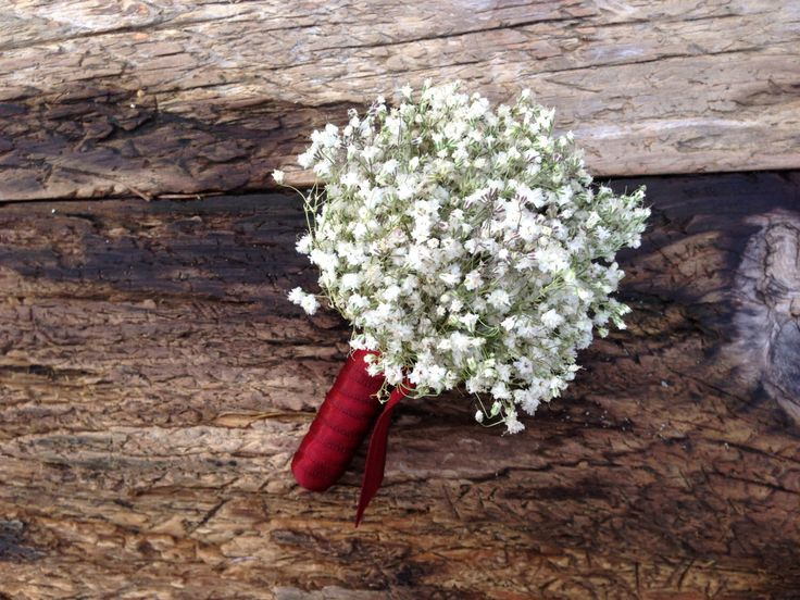 Simple Dried Baby's Breath Boutonniere - Dried Wedding Boutonniere - Baby's Breath by SeasonalBounty on Etsy https://www.etsy.com/listing/262017457/simple-dried-babys-breath-boutonniere