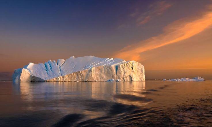 Fiordo helado de Ilulissat, Groenlandia. | naturaleza pura ...