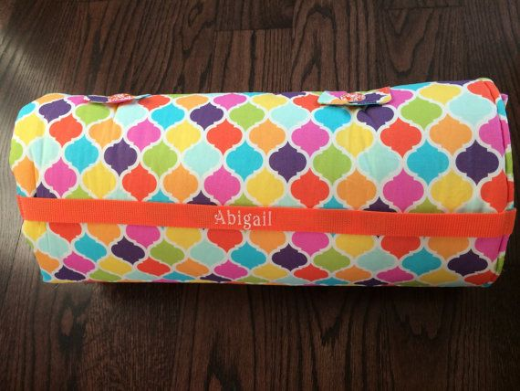 Personalized Preschool Nap Mat 21 x 50 x 1 by CreativeCuddles
