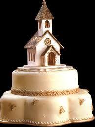 torta en forma de capilla -