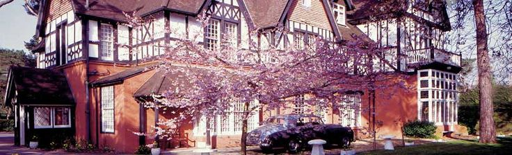 Langtry Manor Hotel.....Originally built in 1877 by The Prince of Wales  (later King Edward VII) for his mistress Lilly Langtry.   Bournemouth   Dorset   England