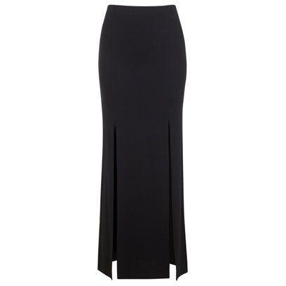 Miss Selfridge black maxi skirt | What To Wear | Night Out | Fashion | redonline.co.uk