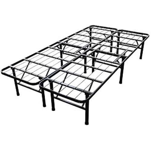 new steel smart base bed folding bed frame twin full queen king cal king size
