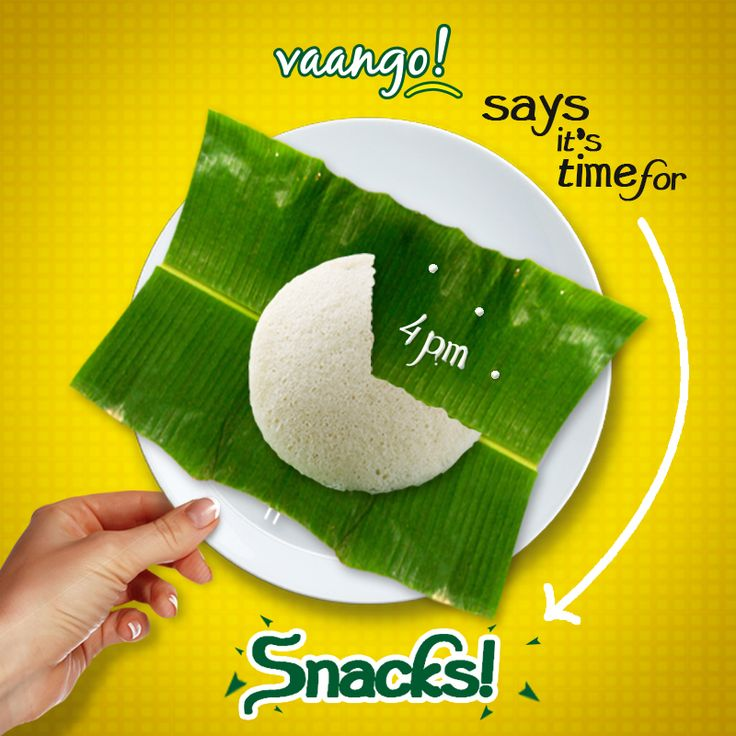 It's 4 'o clock and time for some #Vaango #snack! http://www.vaango.in/IdliVada.aspx