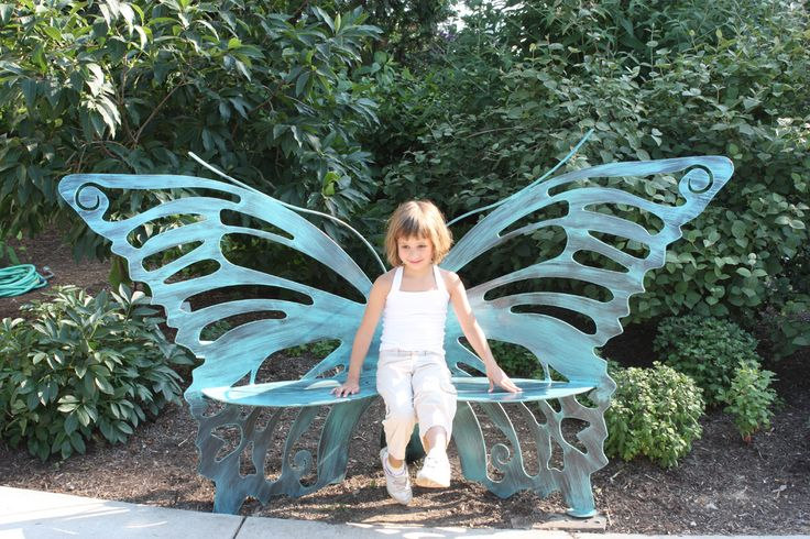 17 Best Butterfly Bench Images On Pinterest