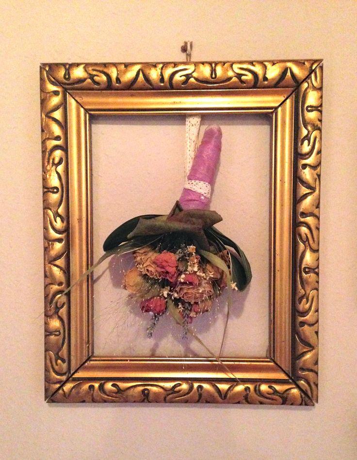Eine tollen Varianten den Brautstrauß zu dekorieren
