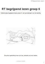 RT Begrijpend lezen groep 6 (pdf)