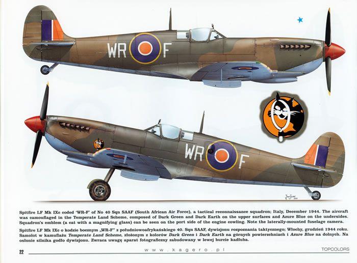 Spitfire IXe SAAF