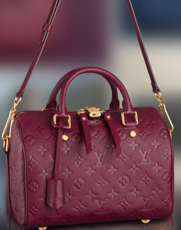Vuitton, everyday luxury. Speedy 25