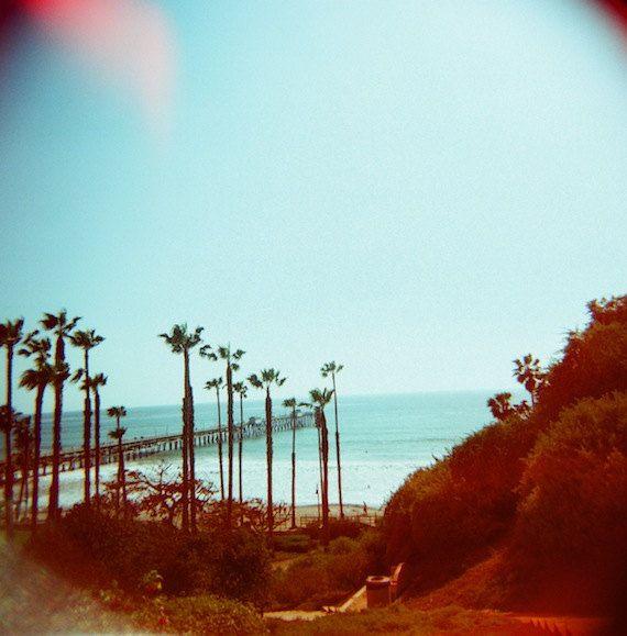 San Clemente Pier CA 5x5 Beach Print California By Granulocity 1500