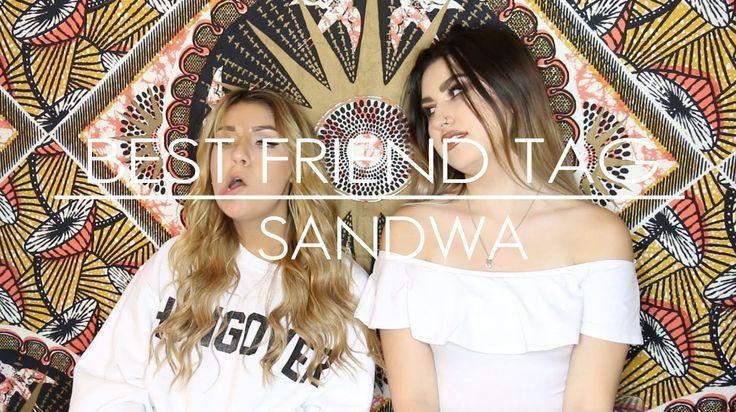Drunk Best Friend Tag ft. Andrea Russett   Sandwa