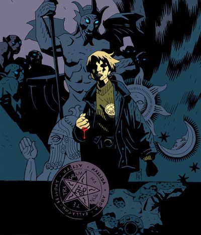 KATE CORRIGAN Art by Mike Mignola BPRD Special Liason to Enhanced Talent Agents (2004 - current) BPRD Director of Field Operations (2002-2004) BPRD Paranormal/Folklore Consultant (1983-1999) Professor of Folklore (1983 - 1998)