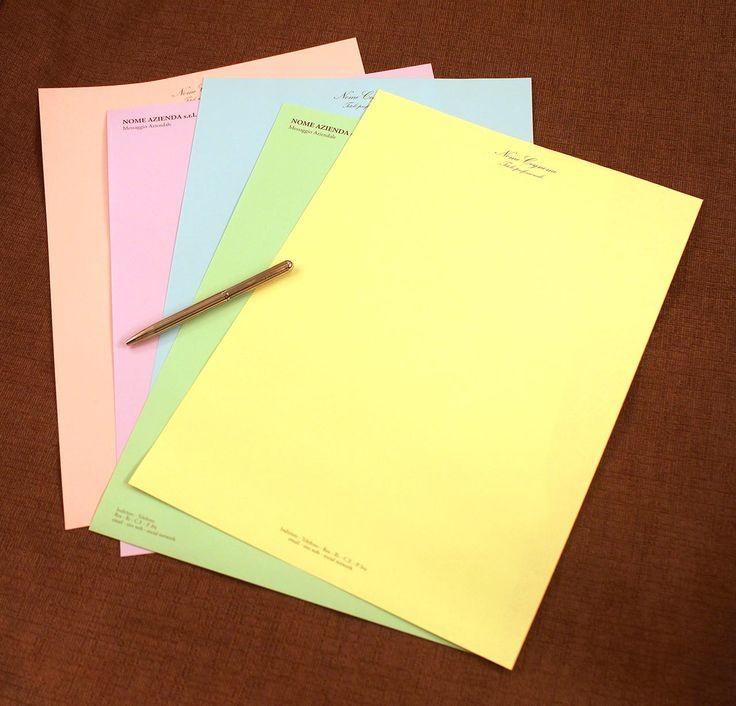Carta instestata su carte colorate - CI0003  Carta da lettera allegra su carta colorata, personalizzabile con nome o iniziali. Ampia scelta di colori di carta differenti. Possibilità di ordinare colori di carta misti con lo stesso soggetto.  #Tipidea #stampaonline #grafica #tipografia #immaginecoordinata #presentarsi