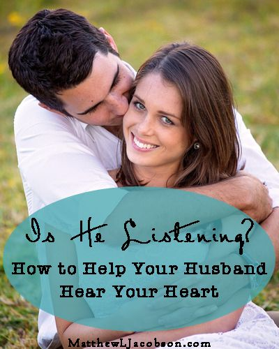 How Can I Get Him to Truly Listen to My Heart? - Matthew L. Jacobson