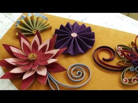 """Мастер-класс """"Работа с клеевыми материалами, изготовление цветов из бандо""""."""