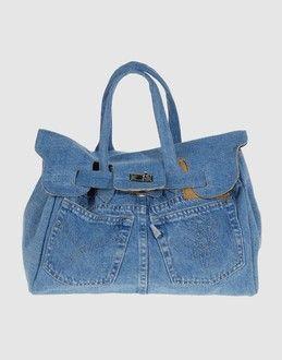 Tas gemaakt van spijkerbroek