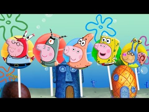 #Peppa Pig #Sponge Bob #Lollipop #Finger Family | #Nursery Rhymes and More Lyrics - RoRo Fun Channel Youtube  #Masha   #bear   #Peppa   #Peppapig   #Cry   #GardenKids   #PJ  Masks  #Catboy   #Gekko   #Owlette   #Lollipops  #MashaAndTheBear  Make sure you SUBSCRIBE Now For More Videos Updates:  https://goo.gl/tqfFEb Have Fun with made  by RoRo Fun Chanel. More    HOT CLIP: Masha And The Bear with PJ Masks Catboy Gekko Owlette Cries When Given An Injection…