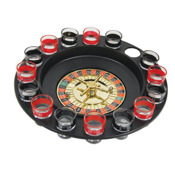 Roulette shot game instructions