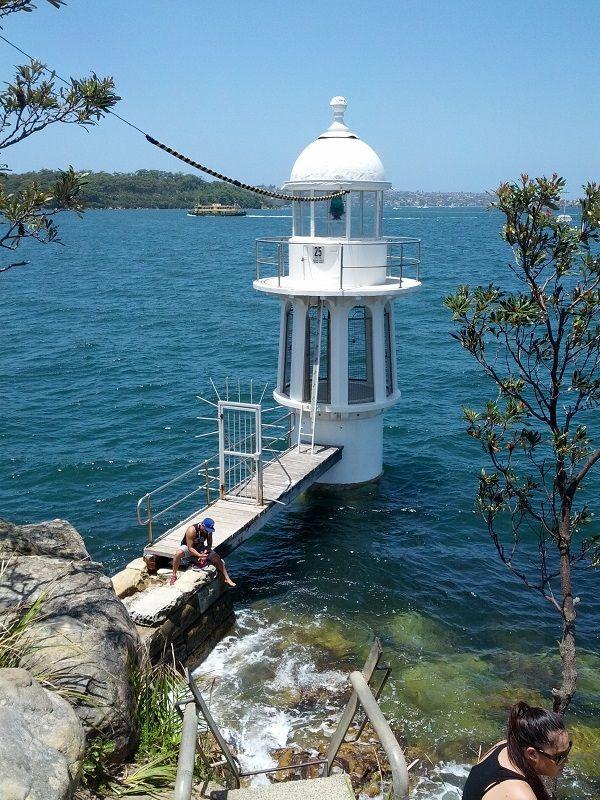 Hidden lookout near Cremorne Point offering quiet views of Sydney Harbour.