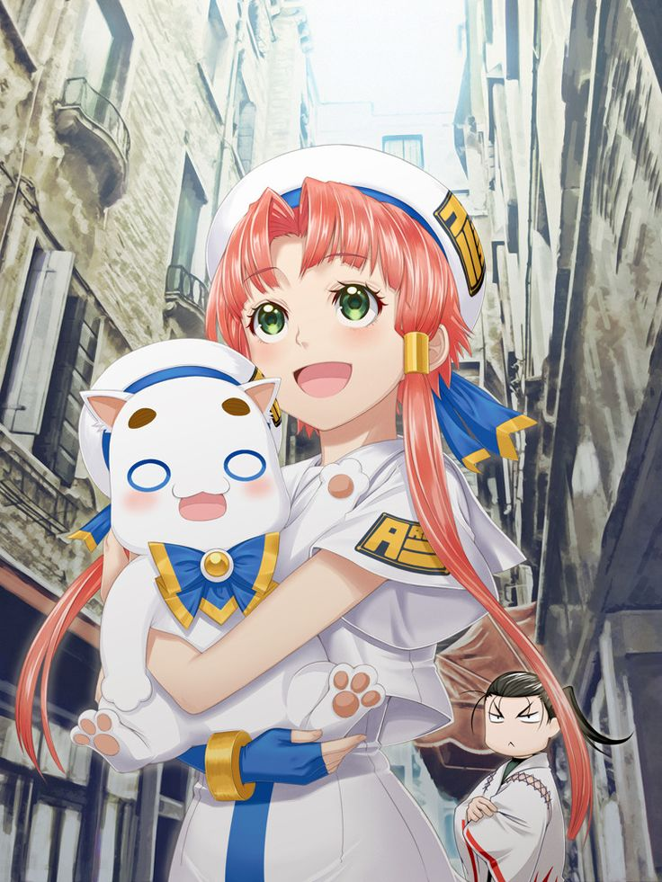 Akari Mizunashi and Akatsukin Aria アニメ, アニメ
