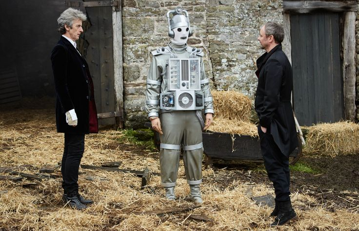 The Doctor, Bill and the Master