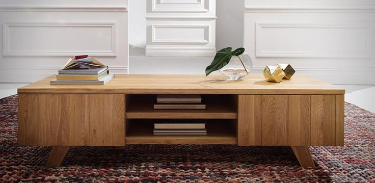 Made with a solid Oak timber top, the Kuiso is beautifully designed lowline TV/Entertainment unit with two doors and two niches, with a lustre finish. Can be paired up with the matching KUISO Coffee Table.
