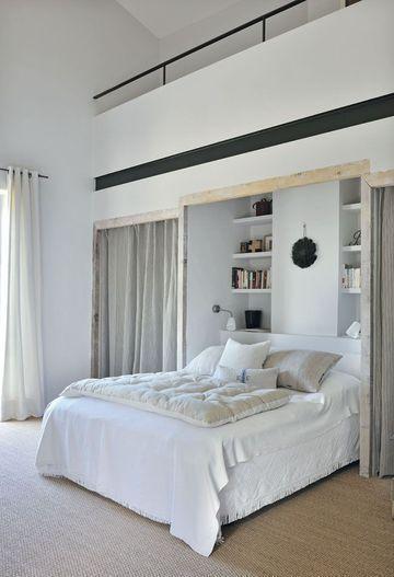 Dissimuler les rangements - Rangement dans la chambre : les idées à piocher - CôtéMaison.fr