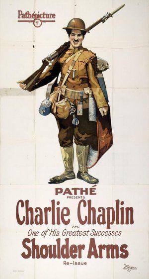 """La película """"Armas al hombro"""", dirigida por Charles Chaplin en 1917, se proyecta dentro del ciclo """"La I Guerra Mundial en el cine de la época"""". Miércoles 29 de octubre en el Centro Cultural Provincial Mª Victoria Atencia, c/ Ollerías nº 34, a las 20:30 h."""