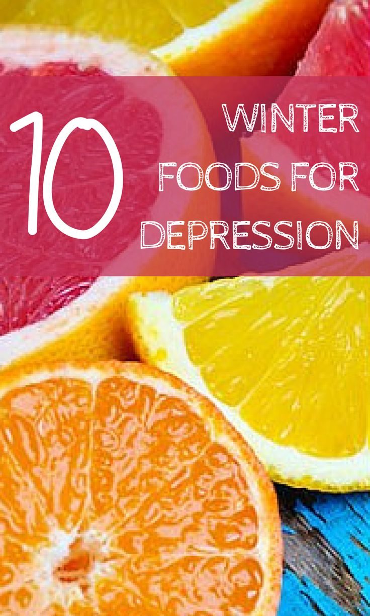It's winter, and it could be very cold and gray, with sunshine in short supply. Load your plate with these winter foods for depression to lift your spirits. #winterfoods #seasonalaffectivedisorder #winterdepression #everydayhealth | everydayhealth.com