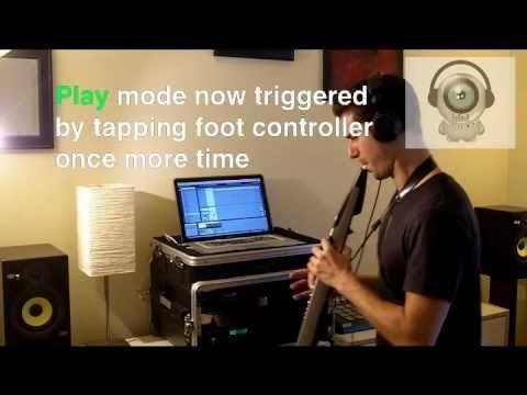 Ableton Looper with Akai EWI & sax - HD tutorial