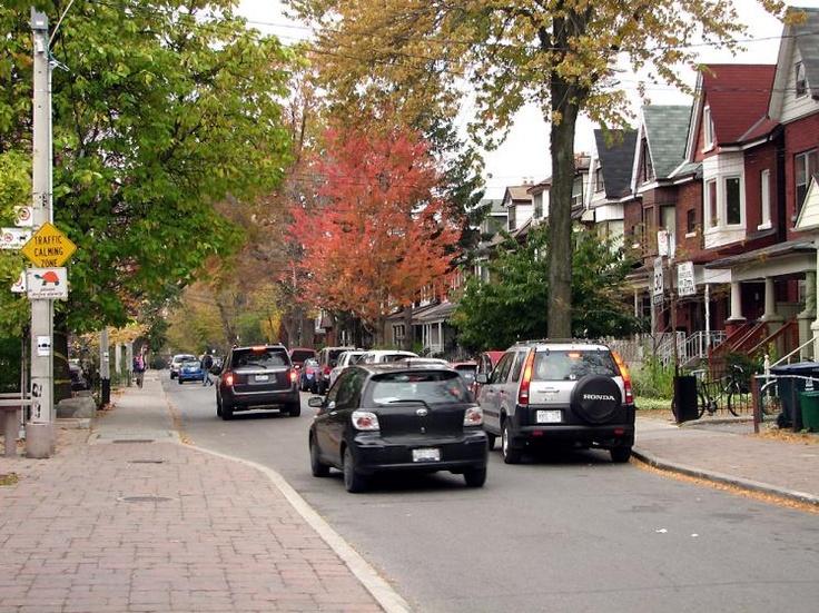 Toronto Photos :: Fall :: Street in Little Italy