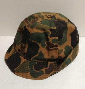 duck hunting hat | ... Original Jones Hat Cap Large Water Repellent USA Camo Duck Hunting EC