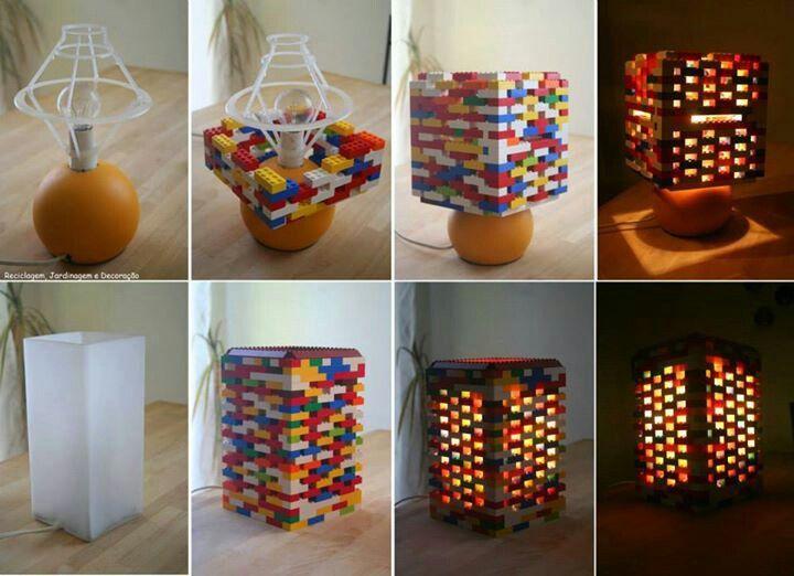 Lego lampshade!