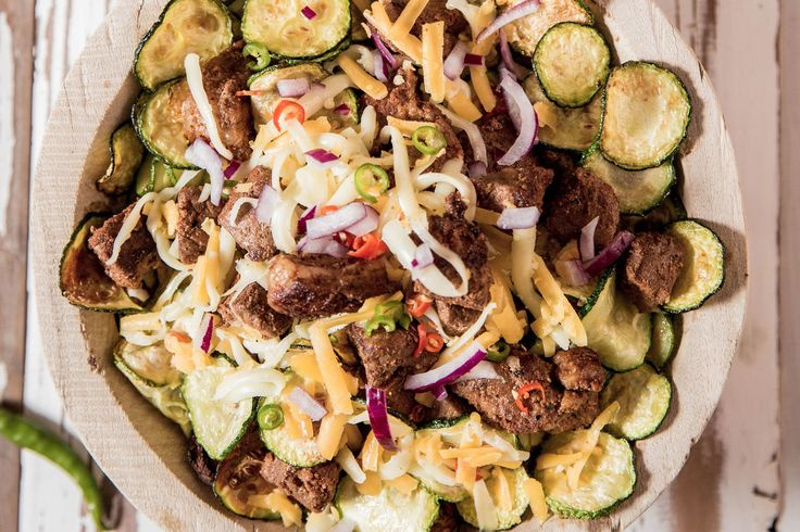 Grilled Zucchini Nachos - Make delicious beef recipes easy, for any occasion