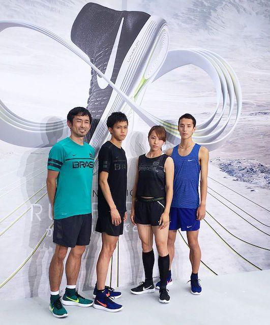 五輪代表選手もオススメ ナイキが新ランシューズを発表