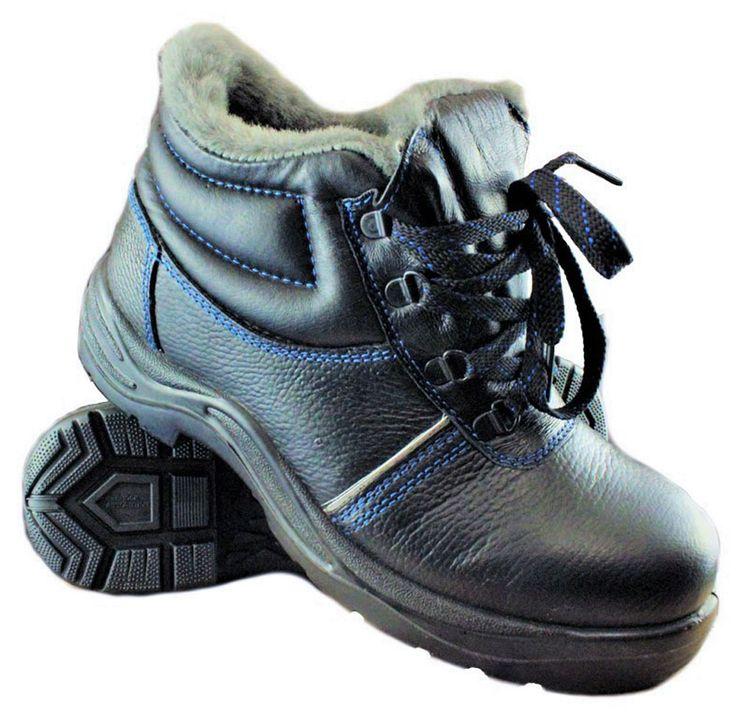 Зимние рабочие ботинки «Строитель стандарт» с КП - универсальная модель подходящая для строительных и монтажных работ, а также работ в тяжелых условиях труда. Верхняя часть обуви изготовлена из износостойкой натуральной кожи толщиной 1.8 мм. Для защиты пальцев ног используется композитный подносок выдерживающий нагрузку до 200 Дж. Термостойкая подошва изготовлена из полиуретана с нитрилом, переносит кратковременные соприкосновения с раскалёнными предметами до +300 градусов.