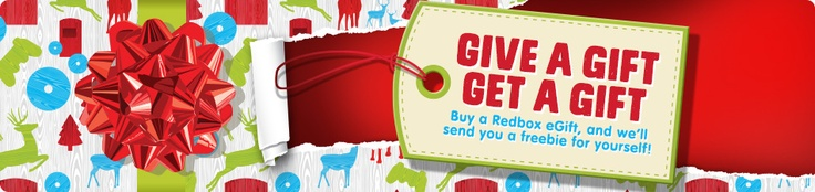 you can buy redbox promo codes...E-gifts Redbox Banner