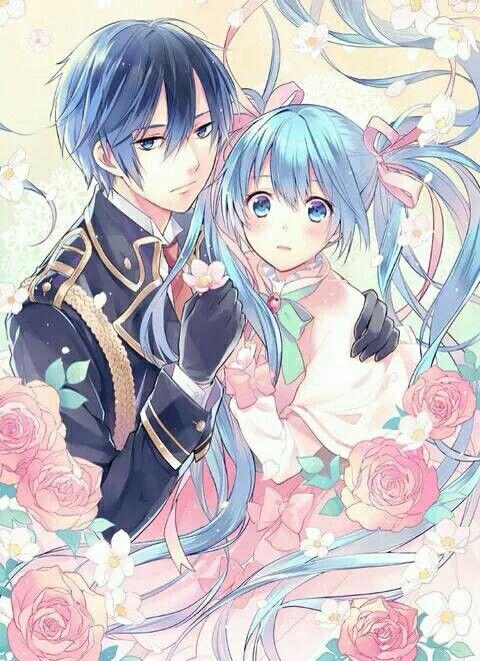 Kaito et Miku