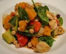 Recipe Chicken & Pumpkin Salad with Chickpeas by lisaarnold - Recipe of category Main dishes - others