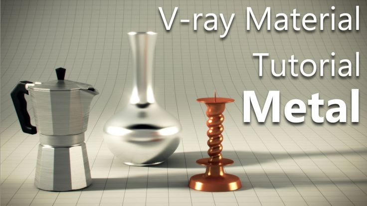 Vray Metal material tutorial in 3ds Max