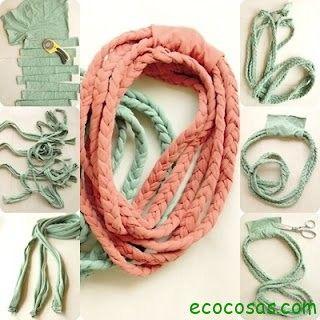 Ideas para reciclar ropa | Ecocosas                                                                                                                                                                                 Más