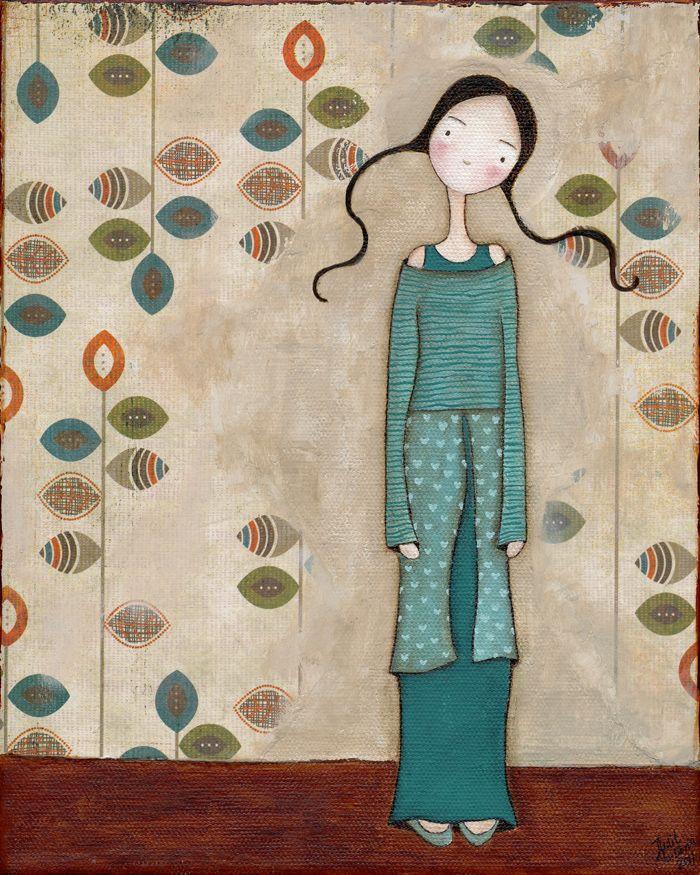 Judit Laboria - love the colour combo too!