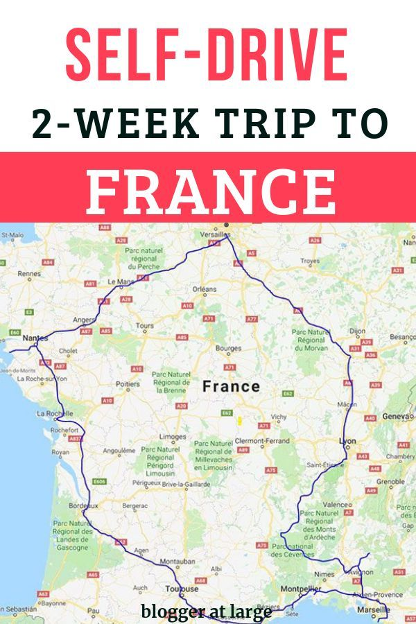 Driving Map Of France.How To Do A 2 Week Self Drive In France With Images Road Trip