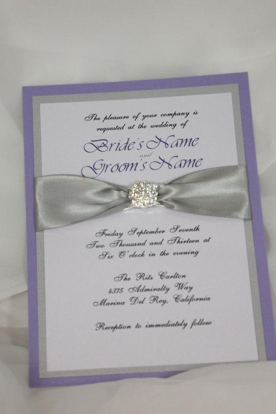10 best Wedding Invitations images on Pinterest | Invitation ideas ...