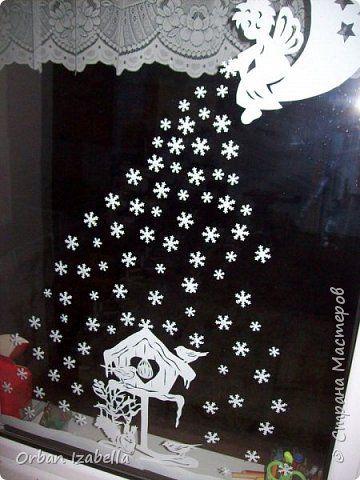 Elemente de decor de Anul Nou cu ferăstrău Decoratiuni de Craciun Photo Paper 4